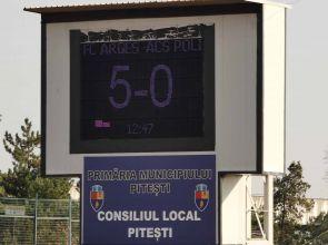 "Video | O ""manita"" administrată timișorenilor! FC Argeș – ACS Poli Timișoara 5-0"