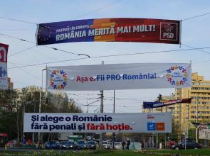 Alegeri europarlamentare 2019. Bătălia bannerelor electorale
