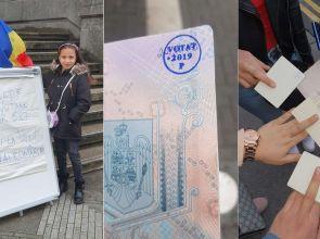 Românii din diaspora o invită pe Viorica Dancilă să calculeze aria cercului format de ștampila aplicată pe buletinul de vot